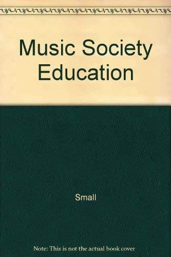 9780028724409: Music Society Education