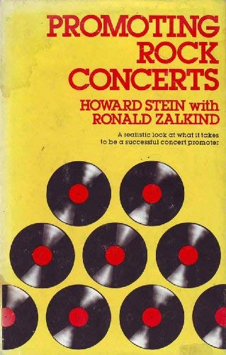 9780028724904: Promoting Rock Concerts (Zadoc Music Business Series)