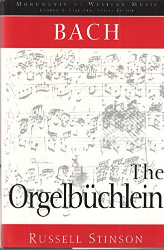9780028725055: Bach: The Orgelb�chlein (Monuments of Western Music) (English and German Edition)