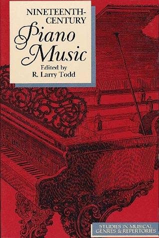 9780028725550: Nineteenth-Century Piano Music: Studies in Musical Genres and Repertoiries (Studies in Musical Genres & Repertories)