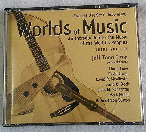 9780028726137: Worlds of Music: An Introduction to the Music of the World's Peoples