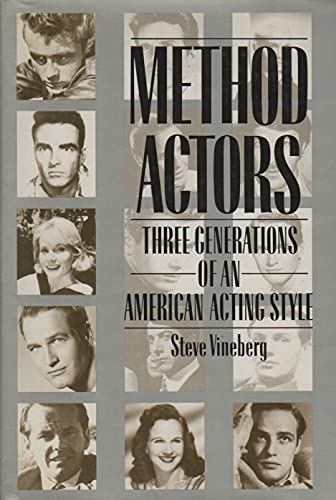 9780028726854: Method Actors: Three Generations of an American Acting Style