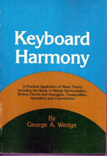 9780028727905: Keyboard Harmony