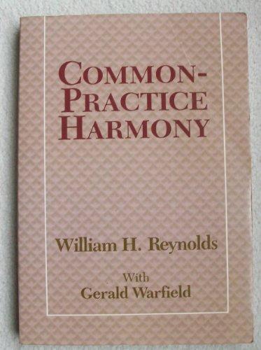 9780028731704: Common-Practice Harmony (Longman Music Series)
