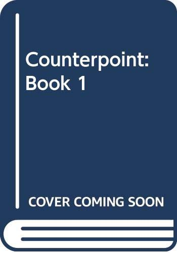 9780028732213: Counterpoint: Book 1