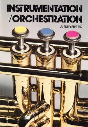9780028732503: Instrumentation - Orchestration