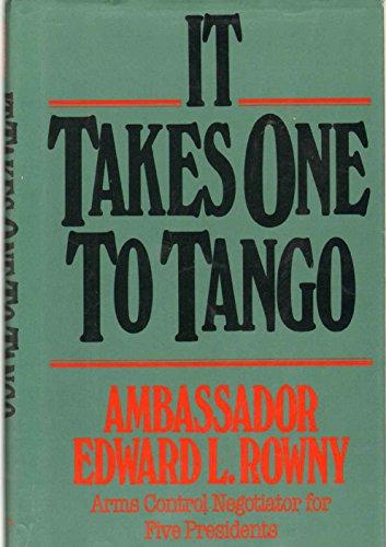 9780028810379: It Takes One to Tango