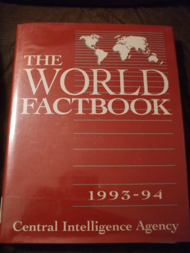 9780028810447: The World Factbook 1993-94