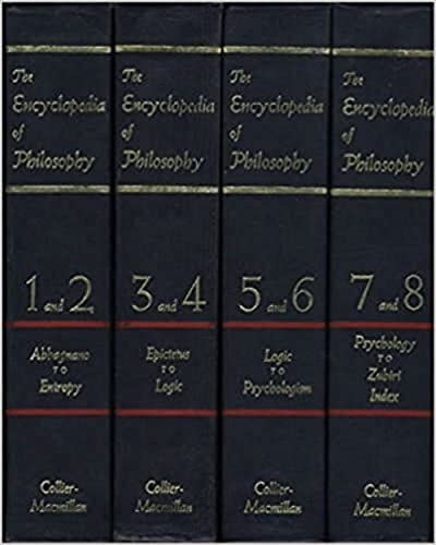 9780028949505: The Encyclopedia of Philosophy (8 Volumes in 4)