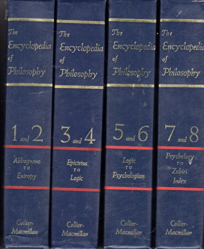 9780028949703: Encyclopedia of Philosophy: Vols 3 & 4 in 1 Book (Vol 3 and 4 in 1)
