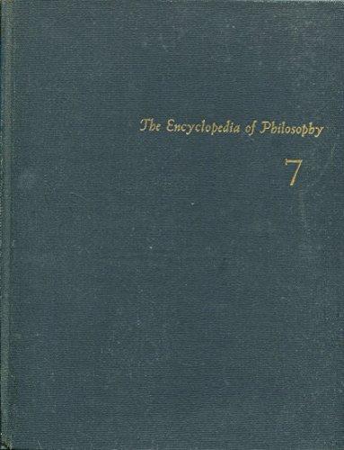 9780028949901: Encyclopedia of Philosophy: Vol 7&8 in One Book