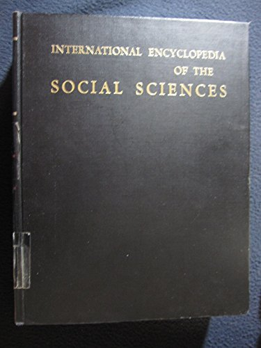 9780028955100: International Encyclopedia of the Social Sciences: Biographical