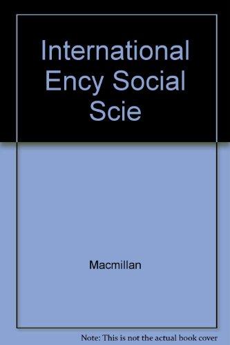 9780028957609: International Encyclopedia of Social Sciences, Vols. 11 & 12