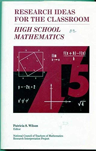 9780028957937: High School Mathematics: Research Ideas for the Classroom, Vol 3