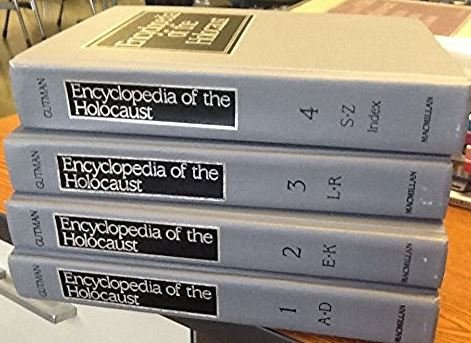 9780028960906: Encyclopedia of the Holocaust - 4 Volumes