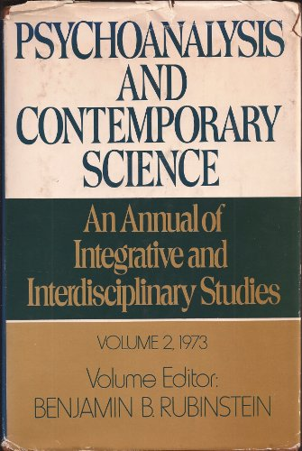 9780028961408: Psychoanalysis and Contemporary Science, Volume 2