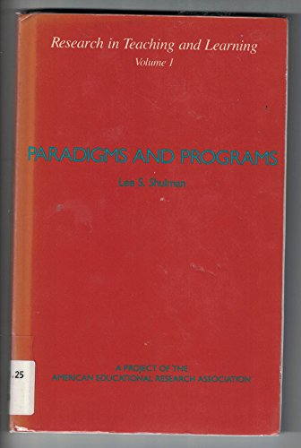 9780028970097: Paradigms and Programs (Research in Teaching and Learning, Vol 1)