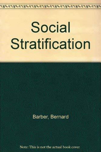 9780028970301: Social Stratification