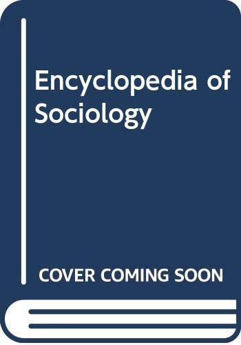 9780028970523: Encyclopedia of Sociology, Vol. 1