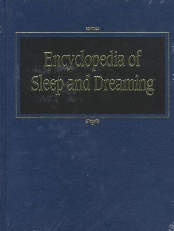 9780028970851: Encyclopaedia of Sleep and Dreaming