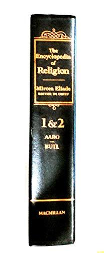 9780028971261: Encyclopedia of Religion, Vols. 1 & 2 Bound in 1 Book