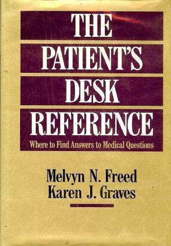 9780028971537: Patients Desk Reference