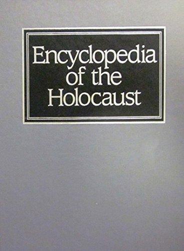 9780028971643: Encyclopedia of the Holocaust