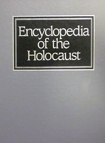 9780028971643: Encyclopedia of the Holocaust