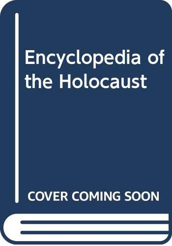 9780028971667: Encyclopedia of the Holocaust, Vol. 4 (S-Z Index)