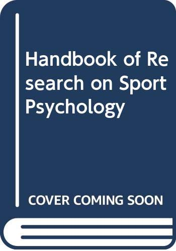9780028971957: Handbook of Research on Sport Psychology