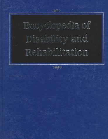 9780028972978: Encyclopedia of Disability and Rehab. (1 Vol)