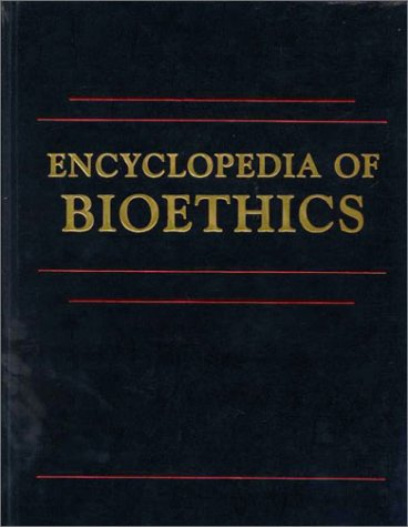 9780028973562: Encyclopedia of Bioethics: Volume 3: Revised Edition
