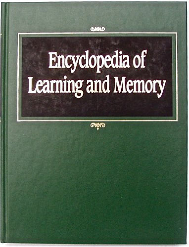 9780028974088: Encyclopedia of Learning and Memory