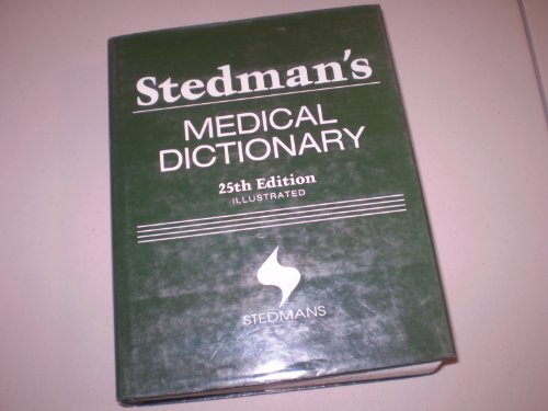 9780028974095: Stedman's Medical Dictionary