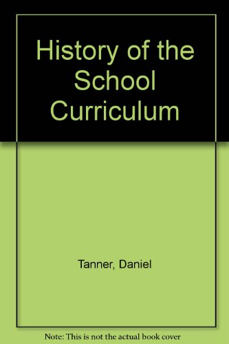 9780028974118: History of the School Curriculum