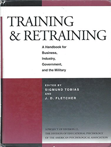 9780028974156: Training & Retraining: A Handbook for Business, Industry, Government, and the Military (Macmillan research on education handbook series)