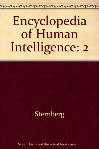 9780028974224: Encyclopedia of Human Intelligence: 2