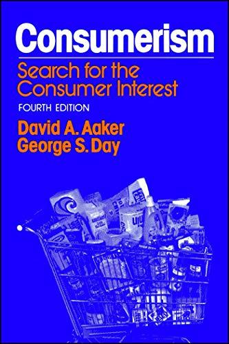 9780029001509: Consumerism, 4th Ed.