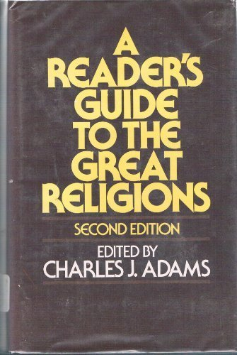 9780029002407: A Reader's Guide to the Great Religions