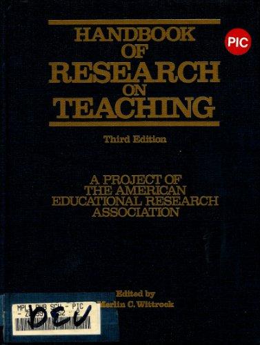 9780029003107: Handbook of Research on Teaching (Macmillan research on education handbook series)