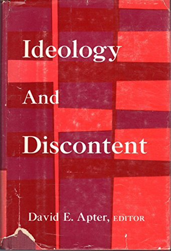 9780029007600: Ideology and Discontent