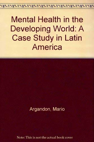 9780029008508: Mental Health in the Developing World: Social Psychiatric Project in Latin America