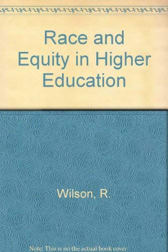 9780029009208: Race and Equity in Higher Education