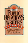 9780029010525: The Public Relations Writer's Handbook