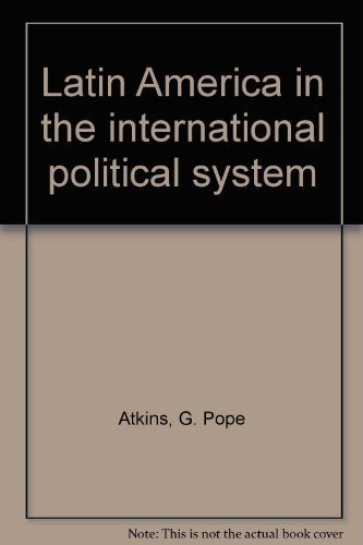 9780029010600: Latin America in the international political system