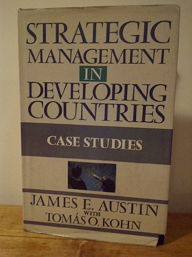 9780029011058: Strategic Management in Developing Countries: Case Studies