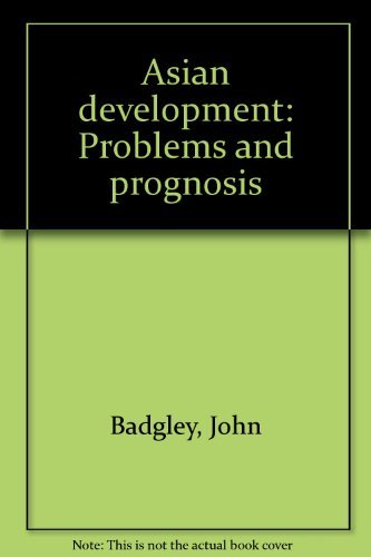 9780029011409: Asian Development: Problems & Prognosis