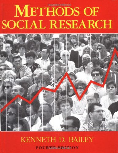 9780029012796: Methods of Social Research, 4th Edition