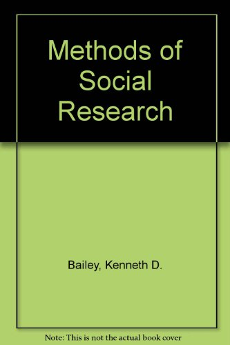 9780029012802: Methods of Social Research