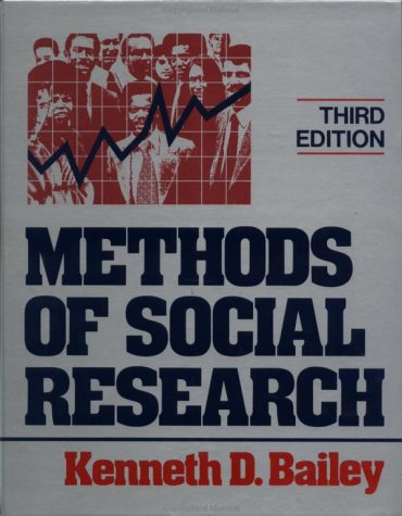 9780029014509: Methods of Social Research 3rd Edition